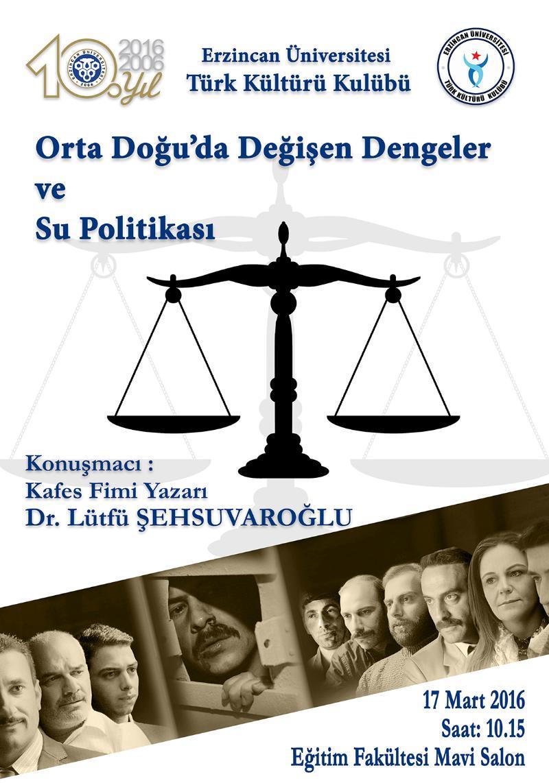 türk Kültürü afiş web